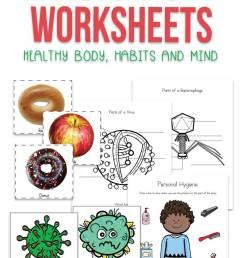 Health Worksheets for Kids [ 1200 x 735 Pixel ]