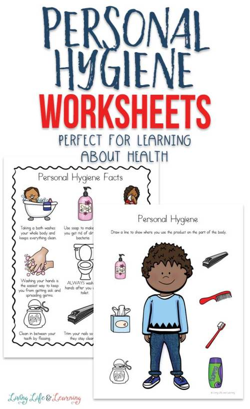 small resolution of Personal Hygiene Worksheets for Kids