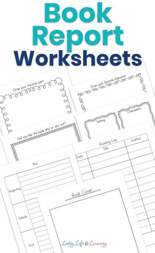 small resolution of My Book Report Worksheets