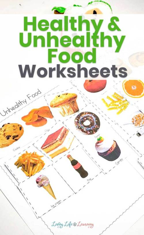 small resolution of Healthy and Unhealthy Food Sorting Worksheet