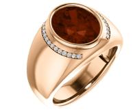 Men's Diamond Rings in 14k Yellow Gold, 14k White Gold