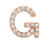 Diamond Initial Earrings - Boomer Style MagazineBoomer ...