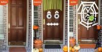 Easy DIY Halloween Door Ideas | Monster Craft