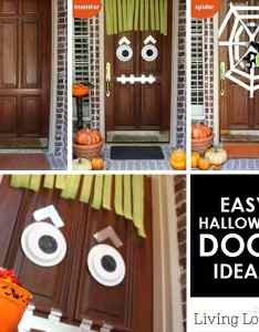 also easy diy halloween door ideas monster craft rh livinglocurto