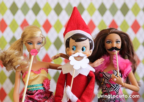 Elf On The Shelf Printable Photo Booth Props Tips From