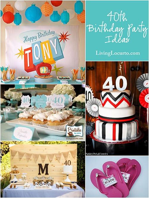 10 amazing 40th birthday