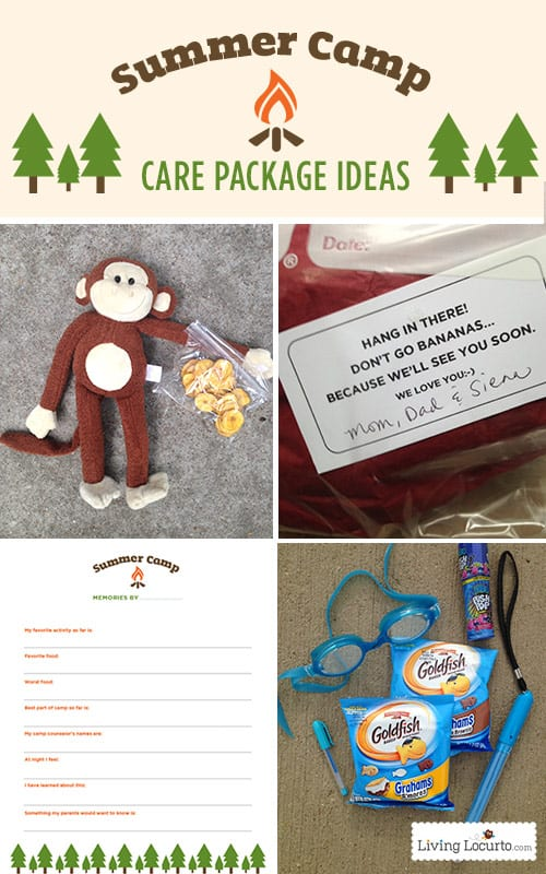 Summer Camp Care Package Ideas Free Printable Camp Questions