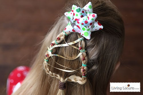 Christmas Tree Braid  Cute Girls Hairstyle