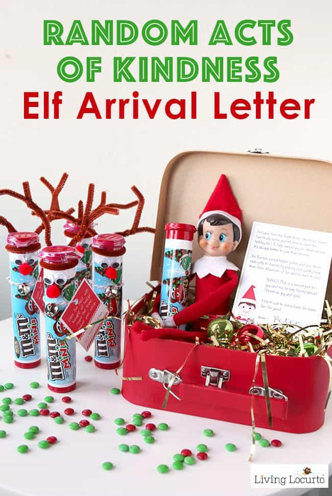 5 Adorable Elf On The Shelf Arrival Ideas Christmas Elf