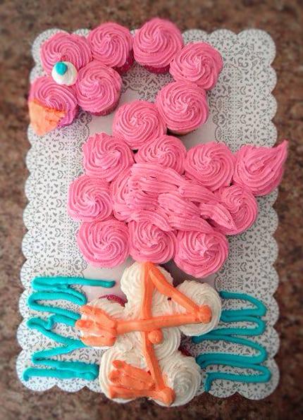 Best Birthday Cupcake Cakes Pull Apart Cake Ideas