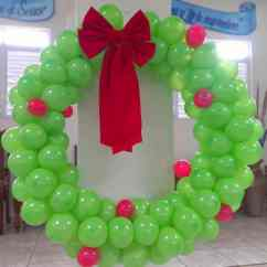 Lime Green Living Room Decorations Best Color For Walls 2017 Christmas Balloon Art | Diy Holiday Party
