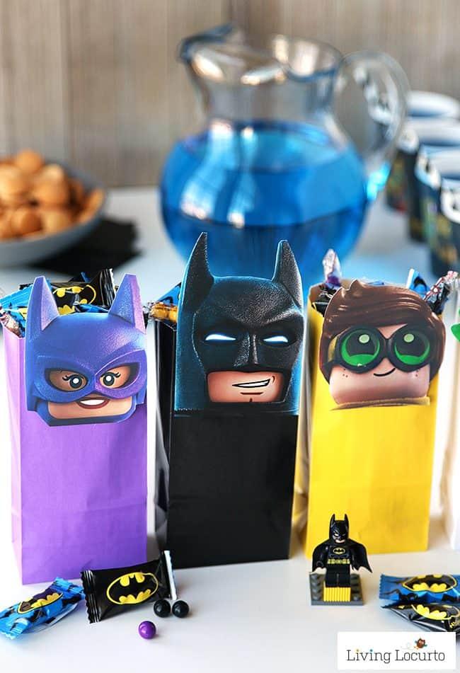 The LEGO Batman Movie DIY Party Treat Bags Free