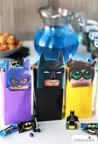 The LEGO Batman Movie DIY Party Treat Bags | Free ...