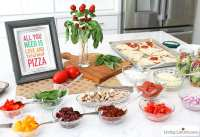 Pizza Party Ideas | Best Tips for a Making a Pizza Bar