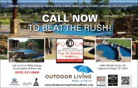 Outdoor Living Pool and Patio Landscape Proof - Living ...