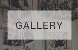 Gallery Living Message Church Clermont Florida Title Image with photographs on white wall with overlay