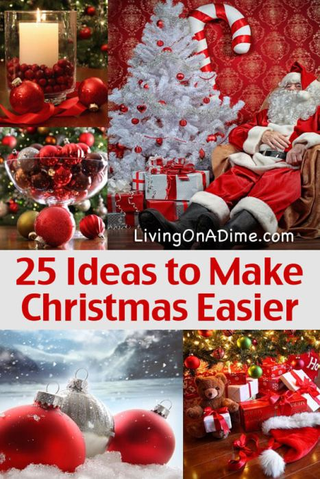 25 Ideas to Make Christmas Easier - Christmas Tips And Ideas