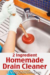 Homemade Drain Opener  Homemade Ftempo