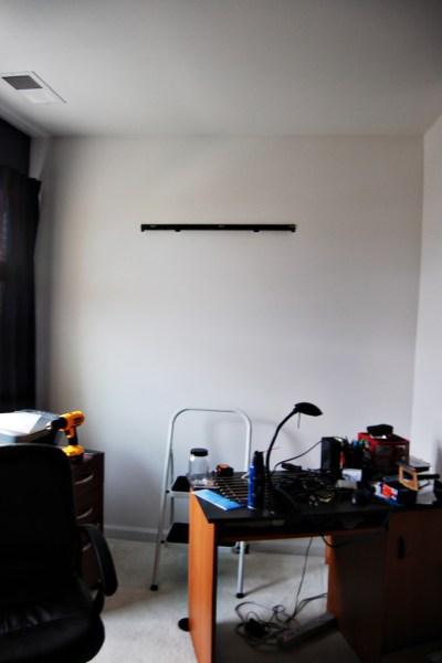 Living on Saltwater - Office Update - Lack Shelf