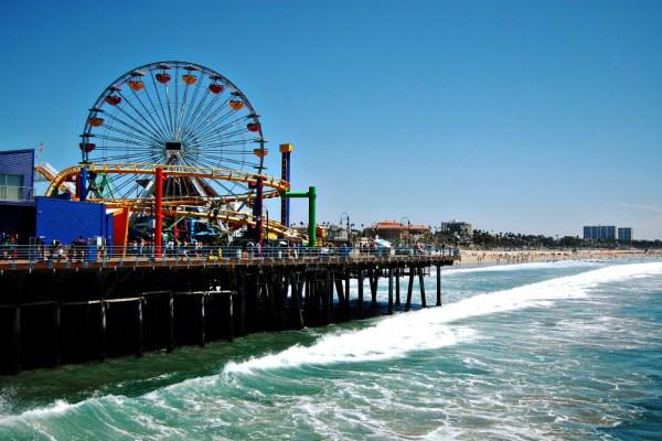 Living on Saltwater - Travels to California - Santa Monica