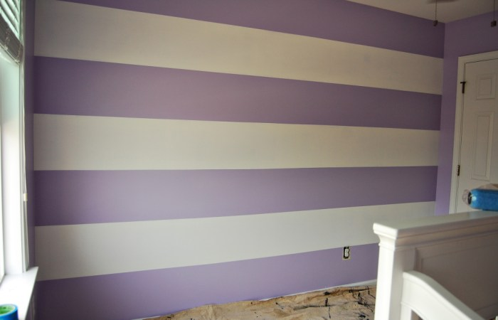 Living on Saltwater- Painting Stripes