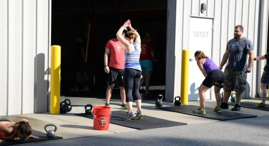 Living on Saltwater - Crossfit Competition