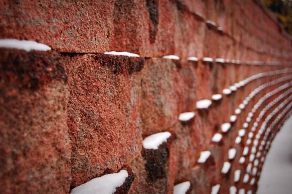Living on Saltwater - Snow Bricks - Snow Day
