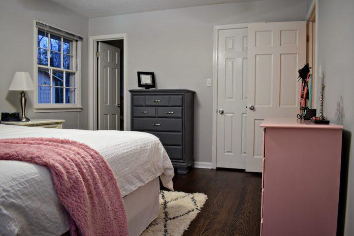 Living on Saltwater - Master Bedroom - progress