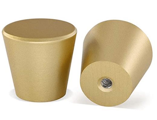 Brushed Brass Cabinet Knobs