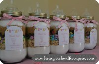 Baby Shower Favors Mason Jars | Umanovisie