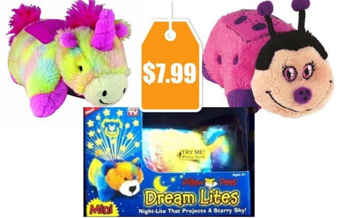 Pillow Pets Mini Dream Lites 9 Different Options 799