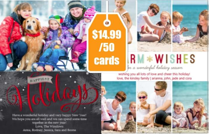 Costco Members 50 Photo Greeting Cards AND 4 Photo