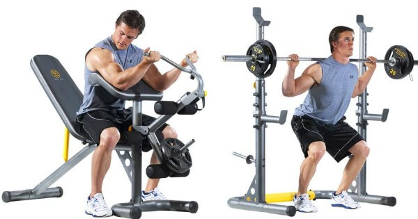 Gold S Gym Xrs 20 Olympic Workout Bench 169 Orig 299