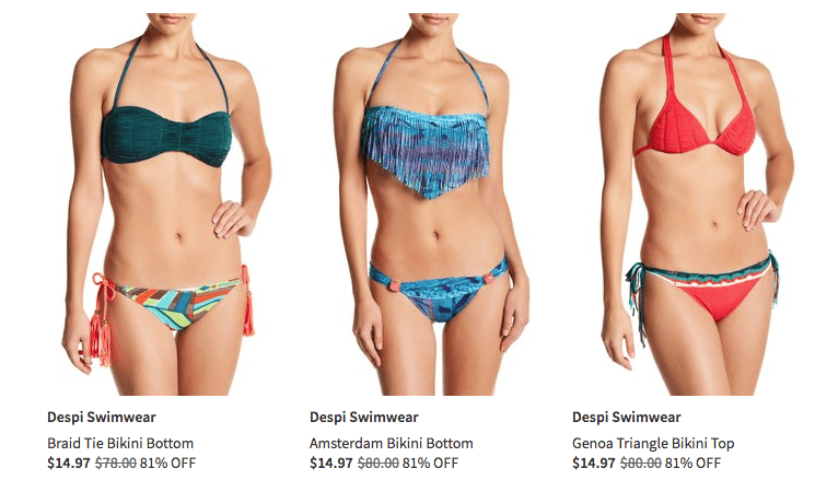 nordstrom rack bathing suits up to 80 off living rich with coupons