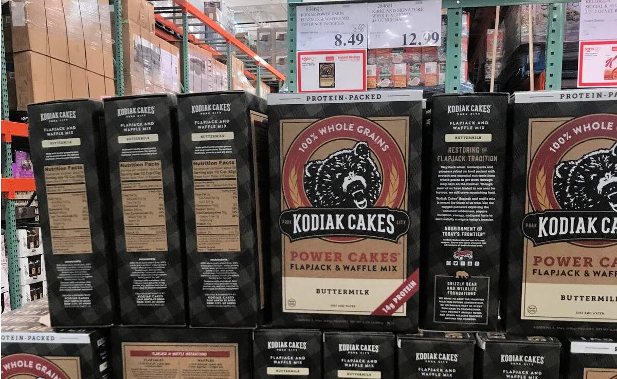 Costco Hot Deal On Kodiak Power Cakes Mix 72 Oz Living