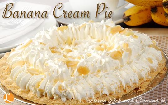 Banana Cream Pie Recipes Living Rich With Coupons