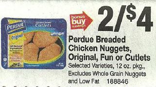 Perdue Coupon 050 at Stop ShopLiving Rich With Coupons
