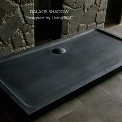 Amazon Kitchen Tables Single Sink 1800x900 Black Granite Stone Shower Tray - Dalaos Shadow