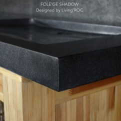 Where To Buy Kitchen Sinks Cabinets Martha Stewart 160x50cm Double Trough Basin Uk Black Granite Bathroom ...