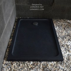 Kitchen Counter Chairs Metal Canisters 1200 X 900 Black Granite Stone Shower Tray - Rubix Shadow