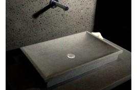 TORRENCE  Vasque en pierre  vier en granit vritable 60x40