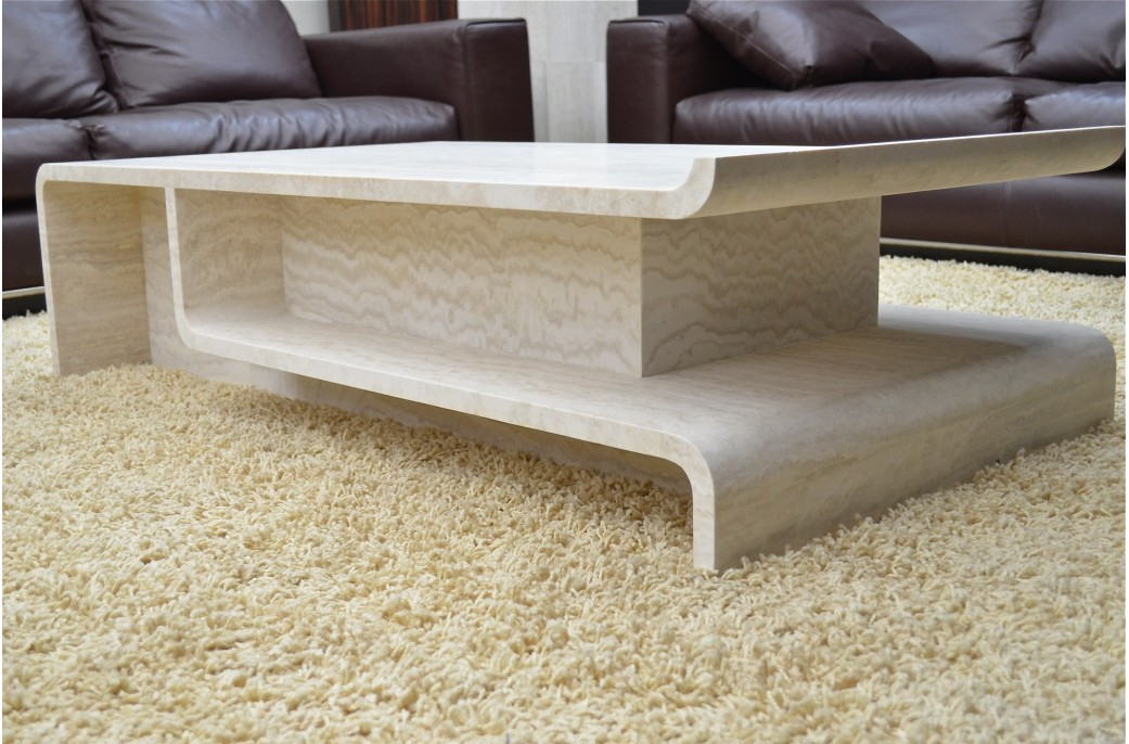 Table Basse Pierres Naturelles Mod C Ale Marseilles