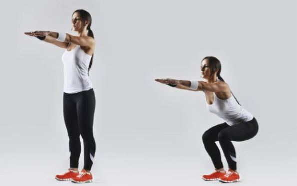 step up and down exercise