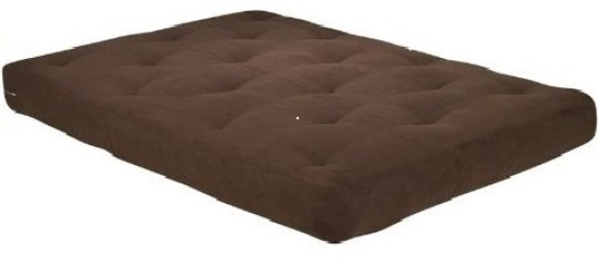 Home life 8-inch independently encased coil premium futon mattress