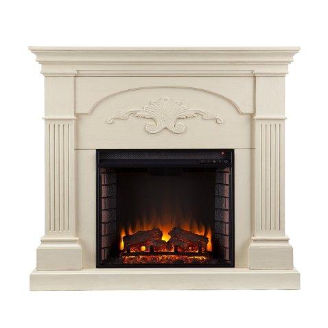 Sicilian Harvest Electric Fireplace – Ivory
