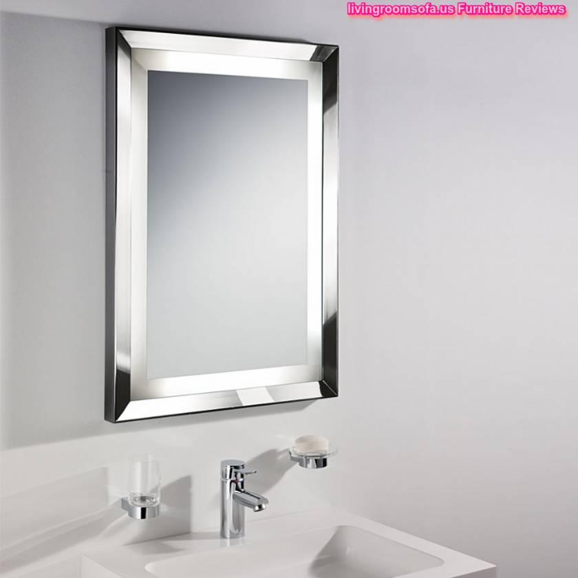 Decorative Modern Bathroom Wall Mirrors