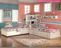 Decorating Twin Girls Room Ideas Cute Awesome Girl Bedroom ...
