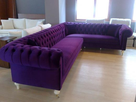 dfs leather sofa bed mart purple corner excellent condition grey ...