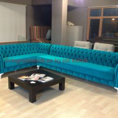 Purple Velvet Sofa Bed Uk Western Leather Teal Chesterfield ...