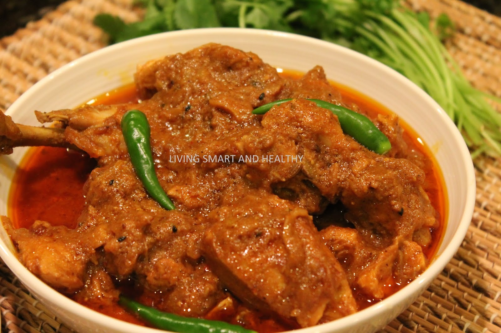 Achari Chicken / Pickled Chicken Curry